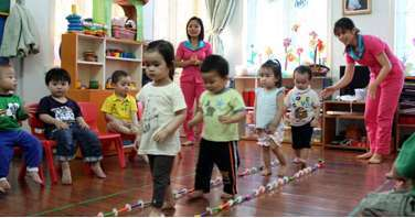 Nhà giữ trẻ tại Cái Khế Cần Thơ